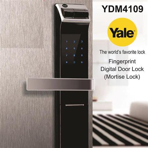E Guard Digital Door Lock Fingerprint Kunci Pintu Digital 1604rjakarta jual kunci digital door lock yale ydm 4109 kamar mandiku