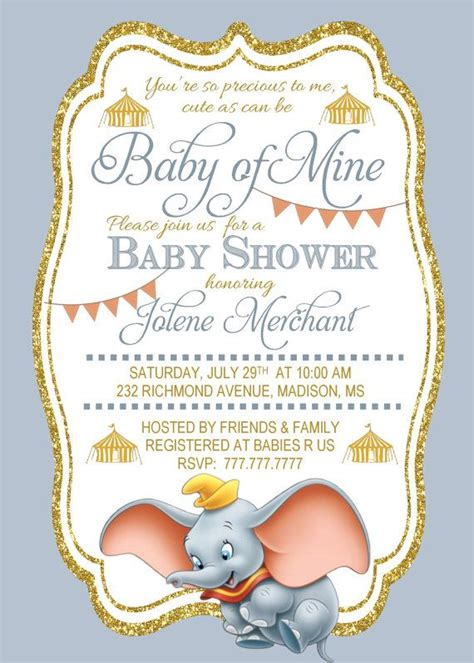 When Do You Normally A Baby Shower by 25 Best Ideas About Dumbo Baby Shower On Baby