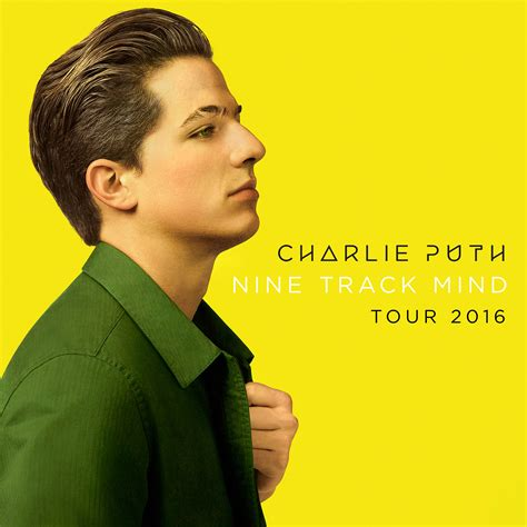 charlie puth new album sold out charlie puth nine track mind tour 2016