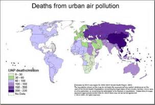 deaths from air pollution maps economy geography
