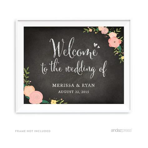 Wedding Welcome Sign by Top 10 Best Wedding Welcome Signs