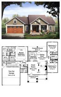 bungalow style cool house plan id chp 37252 total