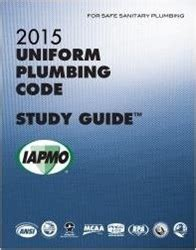 Washington Plumbing Code by 2015 Plumbing Code Study Guide W Tabs
