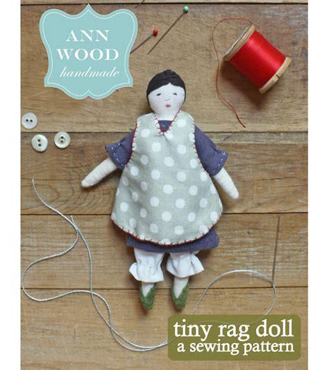 rag doll instagram tiny rag doll pdf pattern wood handmade