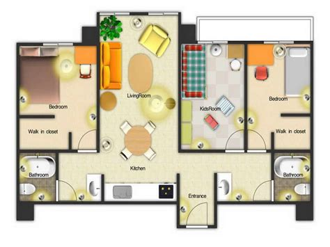 Floor Plan For Kids | floor plan app floor plan software create floor plan