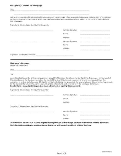 Mortgage Deed Template Free Download Mortgage Deed Template
