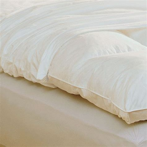 feather bed cover feather bed cover featherbed protector at pure n natural