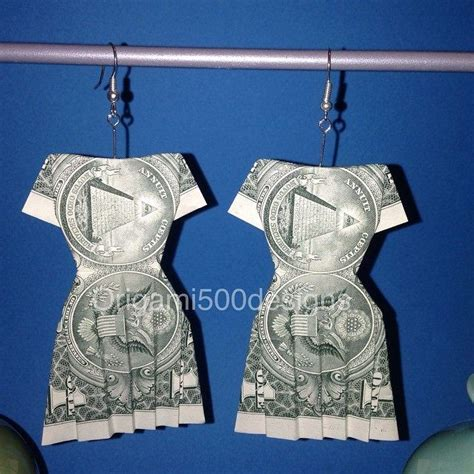 Money Origami Dress - 17 images about money dollar origami on