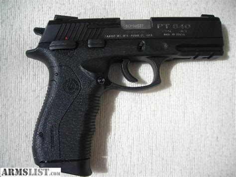 Taurus Pt 840 40s W armslist for sale taurus model pt 840 40cal semi auto
