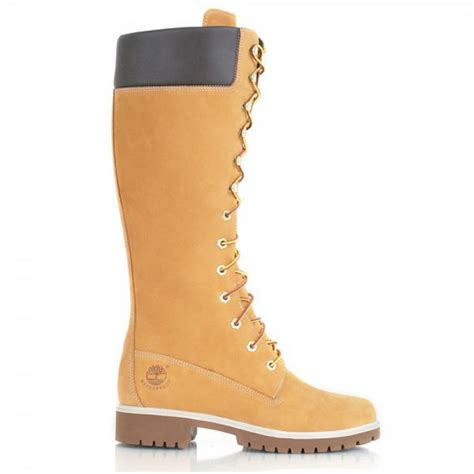 footwear womens boots timberland timberland 14 inch premium wheat z22 3752r
