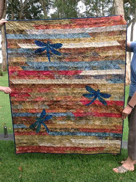 quilt pattern jelly roll race jelly roll race quilt with dragon flys quilts