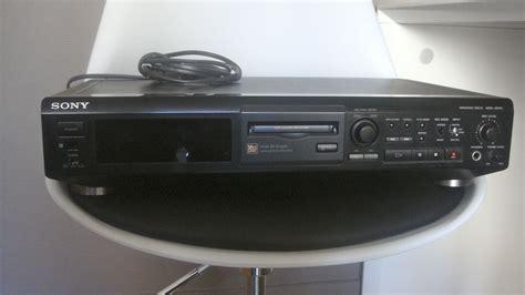 format audio minidisc sony mds je510 image 213909 audiofanzine