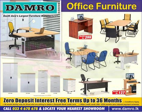national office furniture price list damro office furniture fittings january 2013 171 synergyy