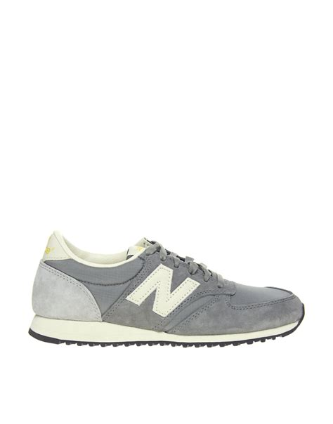 gray new balance sneakers new balance 420 grey vintage trainers in gray lyst