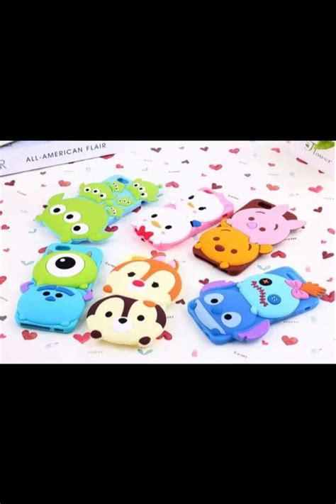 Sillicone Iphone 6 Softcase Disney Tsum Tsum Iphone 6s 6g 3d disney tsum tsum style silicone soft back cover for iphone 5 4 4s 5s 6 samsung