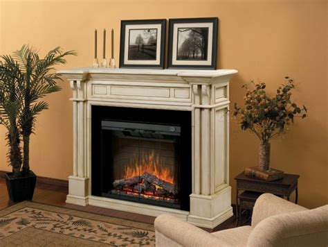 63 quot dimplex kendal parchment purifire electric fireplace