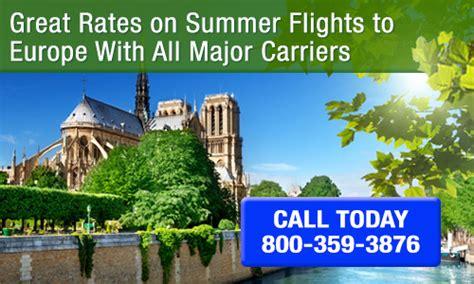 cheap summer flights to europe flight deals 1 800 fly europe