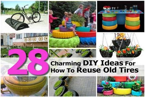 diy how to reuse your 28 charming diy ideas for how to reuse tires