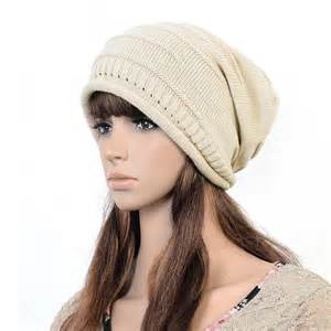 unisex mens womens winter knit hat cap ski knitted