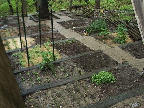 terraced backyard sloped garden railroad ties outside in the yard pinterest terraced garden