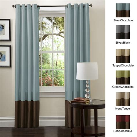 color block curtains curtains and drapes