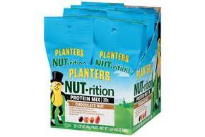 Planters Nut Trition by Planters Nut Trition Chocolate Nut Sustaining Energy Mix 12 1 72 Oz Packs Kraft Recipes