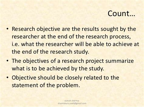 statement of objectives in research writing research objectives by suresh aadi8888