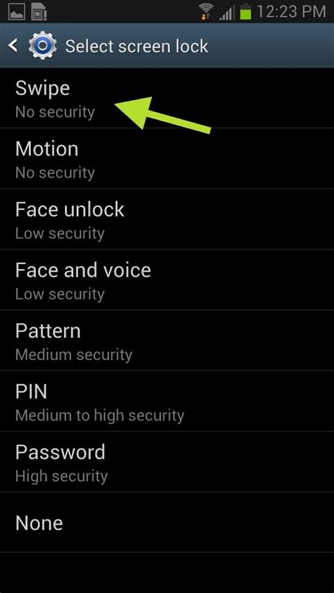 turn off pattern lock screen how to unlock your samsung galaxy s3 with magic 171 samsung