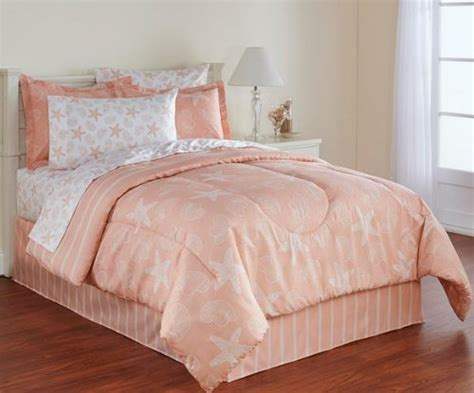 peach bed set beach bedding sets