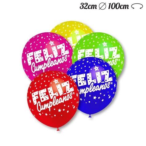 imagenes cumpleaños bombas globos feliz cumplea 241 os redondos 32 cm