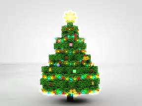 minecraft christmas tree rig cinema 4d anz creations