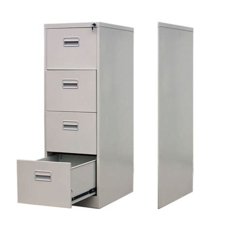 office white 22 quot 4 drawer vertical file cabinet 4