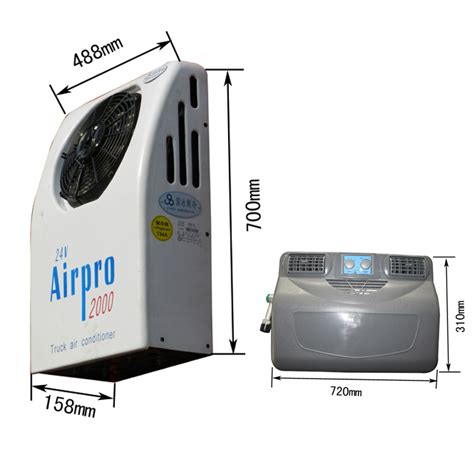 Truck Cabin Air Conditioners by Back Mounted 12 Volt Electric Air Conditioner For Truck