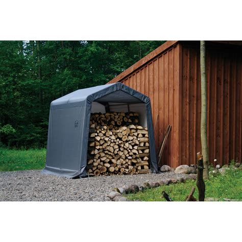 shed in a box shelterlogic 8x8x8 shed in a box grey shop your way shopping earn points on tools