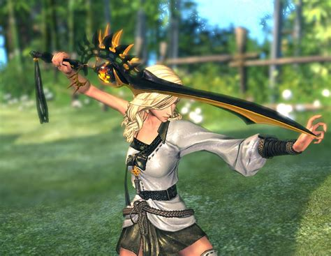 Fury S blade and soul fury s illusion sword bns fashion