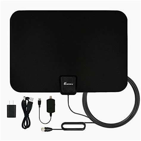 tv antenna vansky indoor lified hdtv antenna 50 mile range import it all