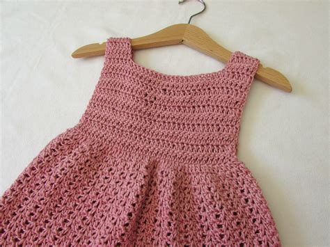 dress pattern 2 year old how to crochet an easy party dress any size