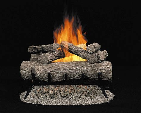 comfort glow gas logs comfort glow bronze series vented gas log set