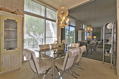 Regency Dining Room 1965 Palm Springs A Quincy Jones Time Capsule Condo