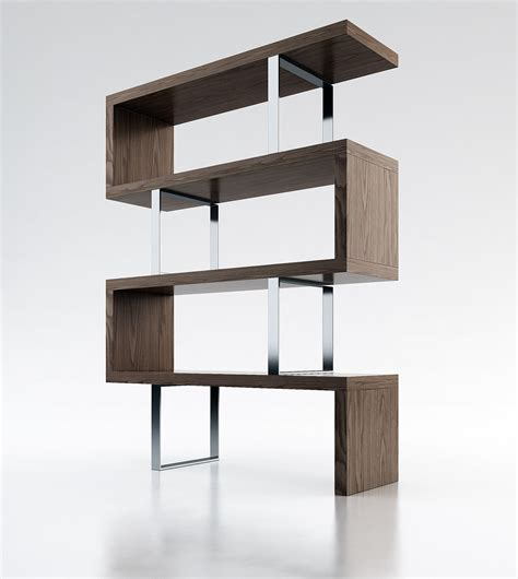 contemporary shelving pearl modern bookcase