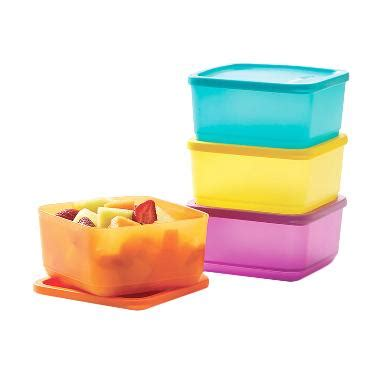 Medium Summer Fresh Set Of 4 Tupperware jual tupperware small summer fresh 4s kotak makan
