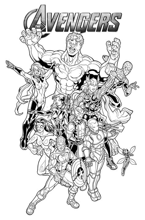 coloring pages marvel avengers get this marvel avengers coloring pages 5hwm2