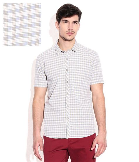 100 Percent Free Background Check Beige 100 Percent Cotton Checks Shirt Buy Beige 100 Percent Cotton