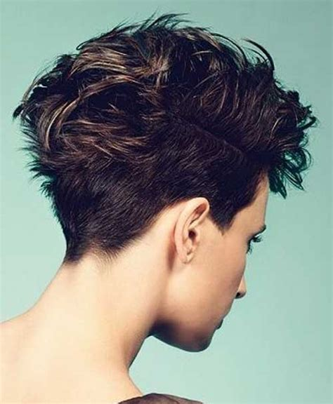 back side of short hair cuts 20 best short brown haircuts short hairstyles 2016