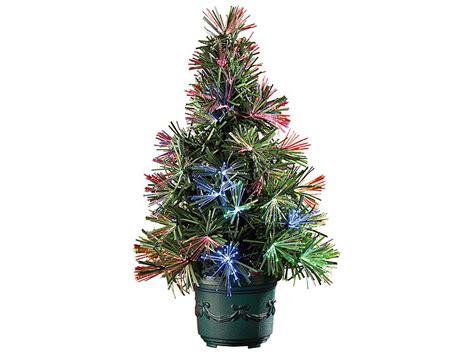 lunartec led weihnachtsbaum mit glasfaser farbwechsler