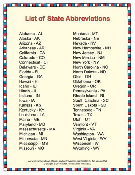 Printable Version Of State Abbreviations   9 best 3rd grade soc stud images on pinterest teaching