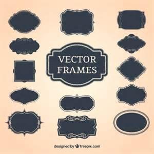 frames vector free vintage decorative frames vector free