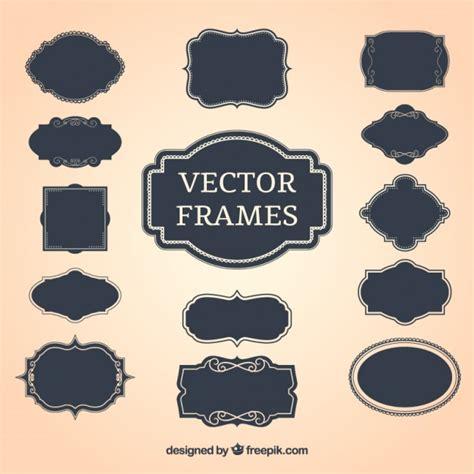 cornici vettoriali free vintage decorative frames vector free