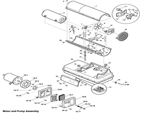 reddy heater parts diagram reddy heaters