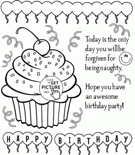 happy birthday best friend coloring page 150 best birthday coloring pages images on pinterest